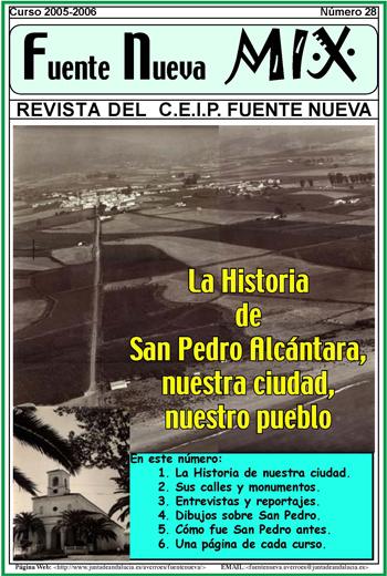 Portada revista Fuente Nueva, a 350