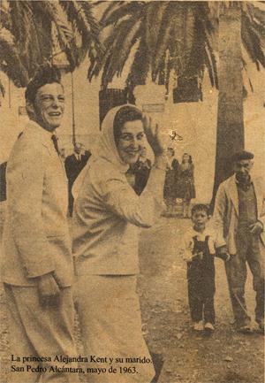 La princesa Kent, San Pedro 1963
