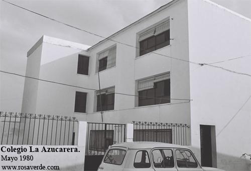 Colegio La Azucarera, edificio