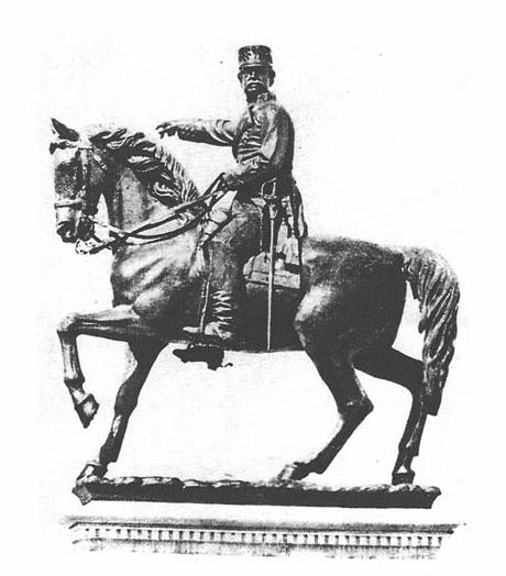 Marqués del Duero ecuestre, Melendreras