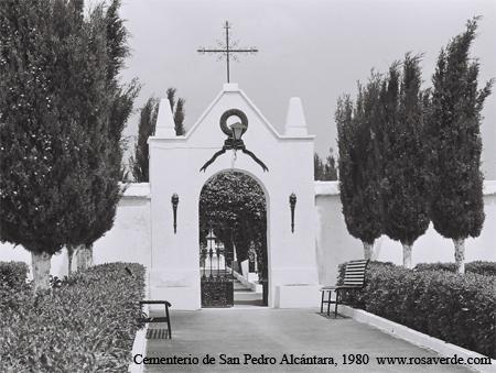 Cementerio San Pedro Alcantara, 1980