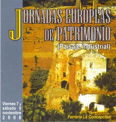 Jornadas Patrimonio nov08