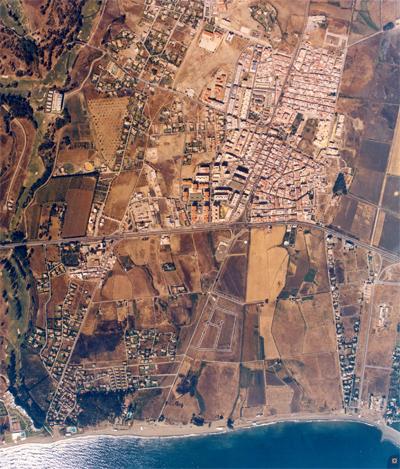 San Pedro aerea hacia 1980
