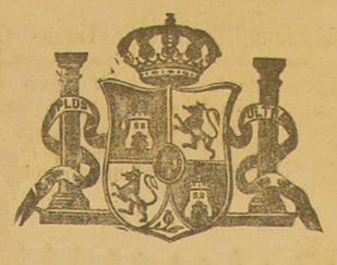 Escudo España BOP 1867