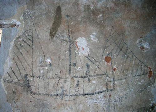 Barco en Los Membrillos, de Iluana