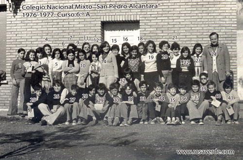 Colegio San Pedro, 6A, 1976 1977, pequeña
