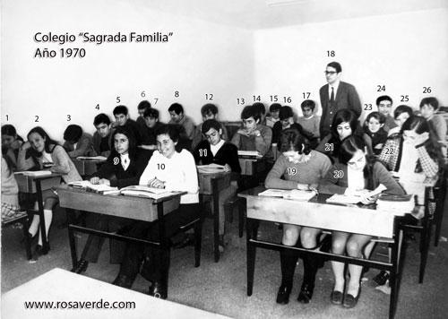 Colegio Sagrada Familia, peque