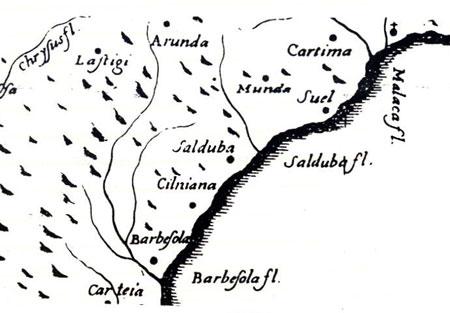 Mapa Cilniana