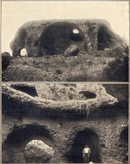 Bovedas, exterior e interior, 1930