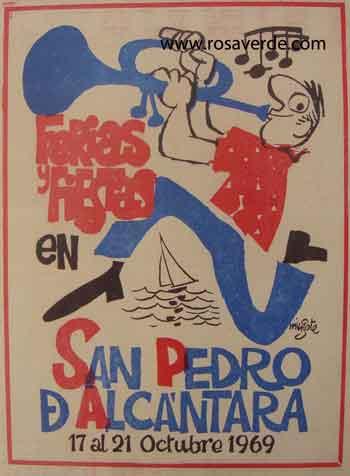 Cartel de la feria de San Pedro 1969