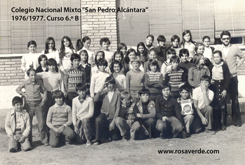 Colegio San Pedro Alcantara 1976 1977, 6 B