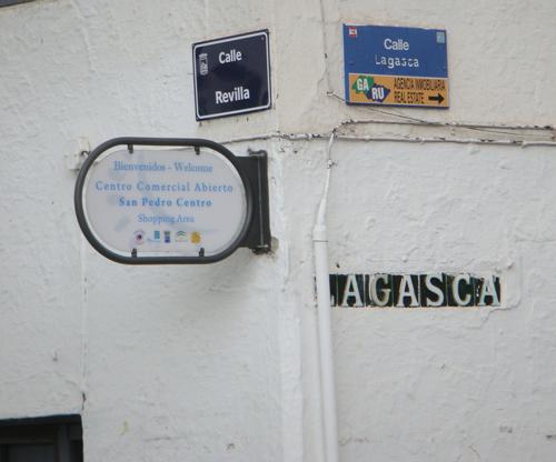 Revilla esquina Lagasca Rosa Verde