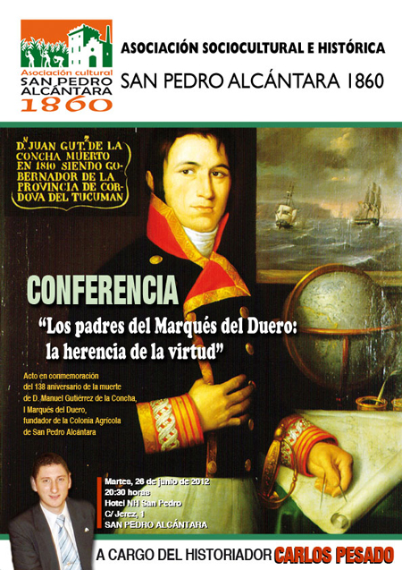Cartel Conferencia Padres MD